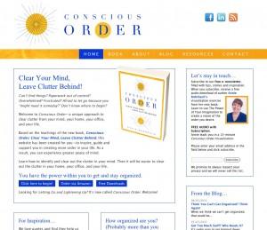 Conscious Order, Annie Rohrbach's new website
