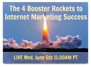 Webinar via YouTube: Internet marketing... success