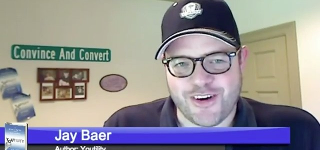 "Jay Baer is our first ""Talk Walker"" video interview via Google Hangouts On-Air"