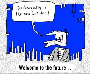 Image via @gapingvoid. Messaage via @briansolis