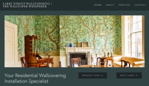 Larry Stroup Wallpapering